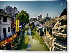 Water Village Acrylic Print
