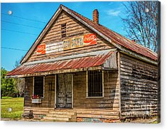 Wateree Country Store  Acrylic Print
