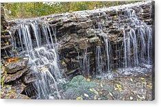 Waterfall @ Sharon Woods Acrylic Print
