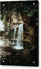 Waterfall Acrylic Print by Antonio Zarrillo