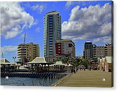 Acrylic Print featuring the photograph Waterfront by Tony Murtagh