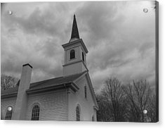 Waterloo United Methodist Church - Detail Acrylic Print
