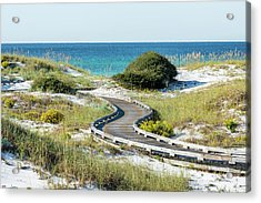 Watersound Beach Dune Boardwalk Acrylic Print