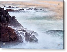Acrylic Print featuring the photograph Wave Falls by Whitney Goodey