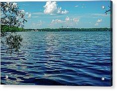 Waves On Lake Harriet Acrylic Print