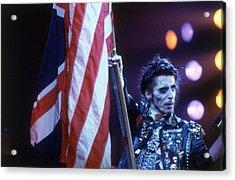 Waving The Flag Acrylic Print