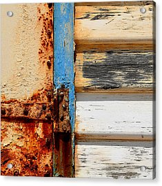 Weathered Acrylic Print by Sabina D'Antonio