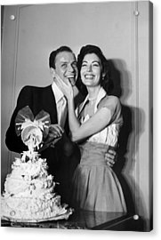 Wedded Bliss Acrylic Print by Hulton Archive
