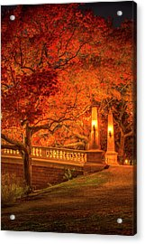 Weeks In Red Acrylic Print