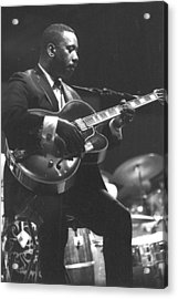 Wes Montgomery Performing Acrylic Print