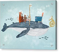 Whale Song Acrylic Print