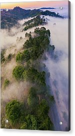 What It's Like Up There Acrylic Print by Vincent James