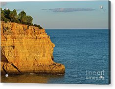 Where Land Ends In Carvoeiro Acrylic Print