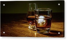 Whisky For Two Acrylic Print