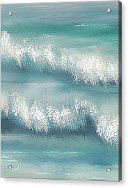 Whispering Waves Acrylic Print