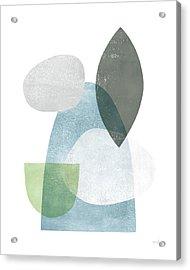 Whispers I Acrylic Print by Moira Hershey