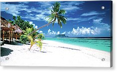 White Sand Beaches Of Samoa Acrylic Print