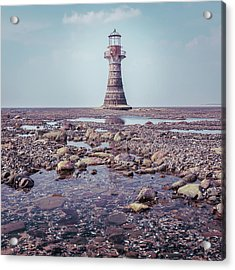 Whiteford Point Lighthouse Acrylic Print