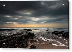 Widemouth Bay, Cornwall. Acrylic Print
