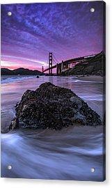 Wild Gate, Golden Gate Bridge Acrylic Print by Vincent James