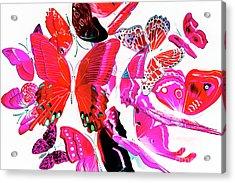 Wild Vibrancy Acrylic Print