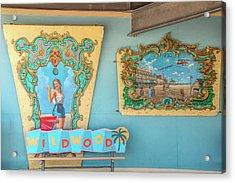 Acrylic Print featuring the photograph Wildwood Days 2 by Kristia Adams