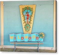 Acrylic Print featuring the photograph Wildwood Days by Kristia Adams