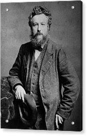 William Morris Acrylic Print by London Stereoscopic Company