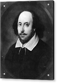 William Shakespeare Acrylic Print by Hulton Archive