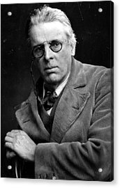 William Yeats Acrylic Print by Hulton Archive