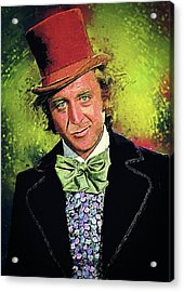 Willy Wonka Acrylic Print