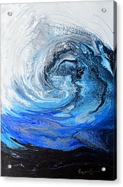 Wind And Wave Acrylic Print
