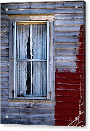 Window In Marlboro Acrylic Print