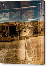 Window Shopping Acrylic Print by Joseph Smith