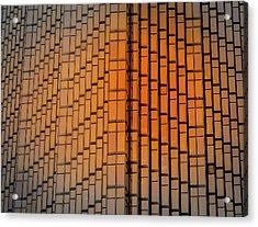 Windows Mosaic Acrylic Print