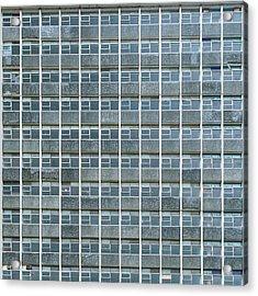 Windows Pattern Modern Architecture Acrylic Print