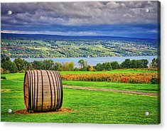 Acrylic Print featuring the photograph Wine Country - Finger Lakes, New York by Lynn Bauer
