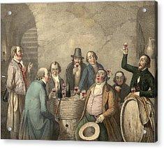 Wine Tasters Acrylic Print