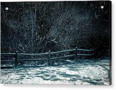 Winter Arrived Acrylic Print
