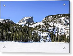 Acrylic Print featuring the photograph Winter At Notchtop Mountain by Dawn Richards