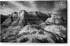 Winter - Blue Mesa Acrylic Print by Joseph Smith