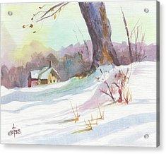 Winter Break Acrylic Print