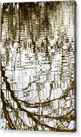 Winter Water Reflection - 19-5012  Acrylic Print
