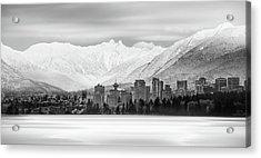 Winterscape Vancouver Acrylic Print