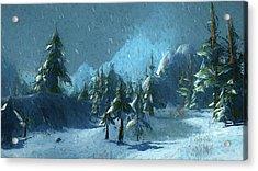 Winterspring Acrylic Print