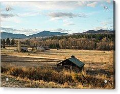 Winthrop Morning Pastures Acrylic Print