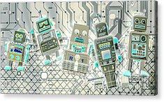 Wired Intelligence Acrylic Print