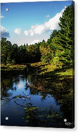 Wisconsin Waterscape Acrylic Print