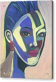 Woman Of Color Acrylic Print