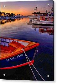 Wooden Boats Acrylic Print